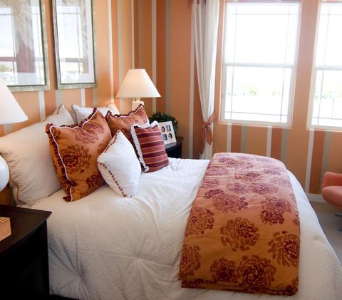Best Home Decorating Ideas Peach Bedroom Design