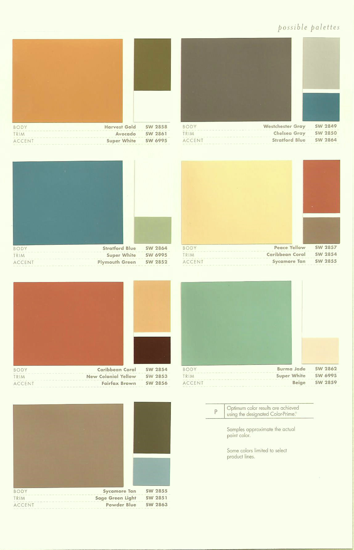 Sherwin Williams Color Chart For Interior Paint Simple My Favorite